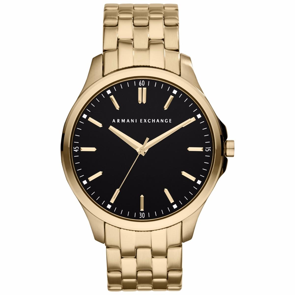 2aa74927993c reloj armani exchange dorado dial negro ax2145 para hombre . Cargando zoom.