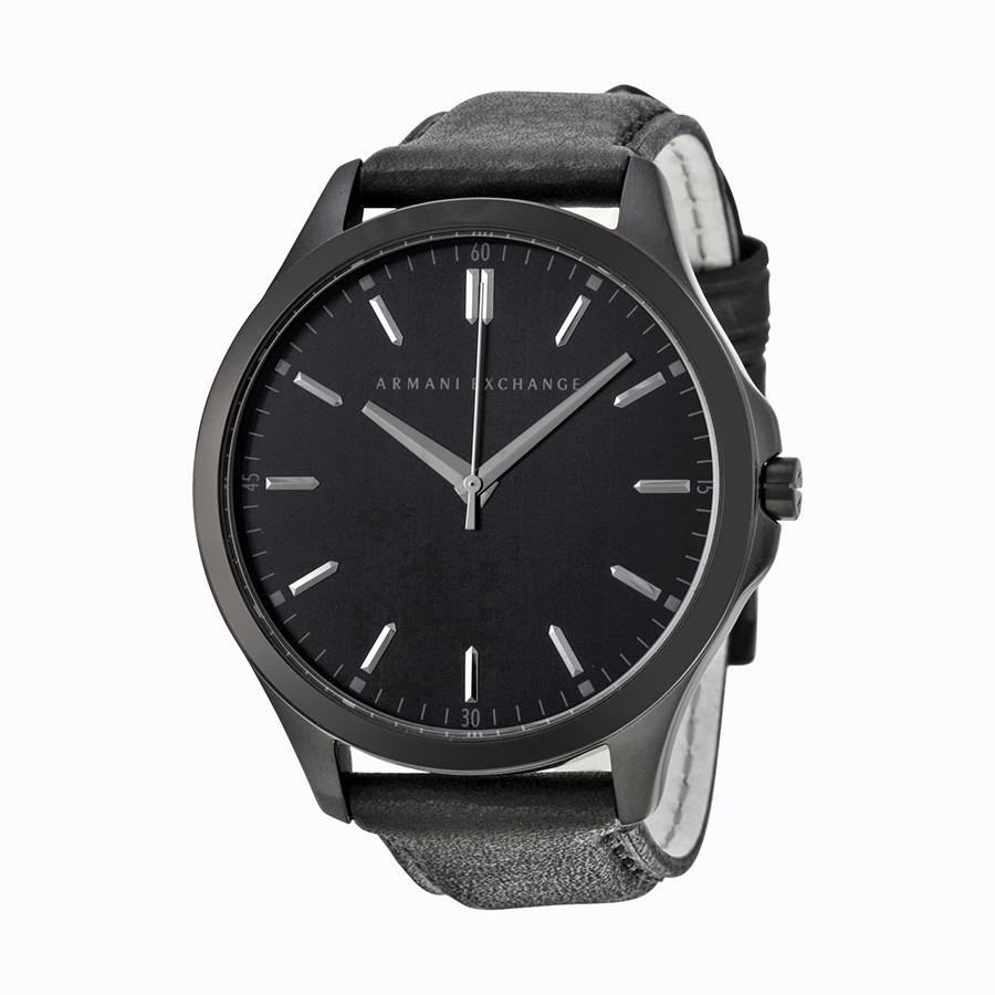 d63f00cc1702 reloj armani exchange hampton acero piel negro hombre ax2148. Cargando zoom.