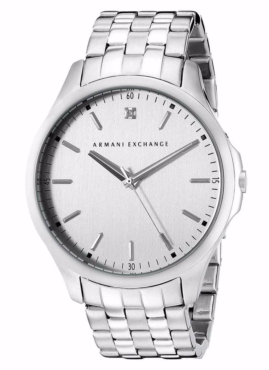 edd91ca49942 reloj armani exchange hampton diamond ax2170 plateado hombre. Cargando zoom.