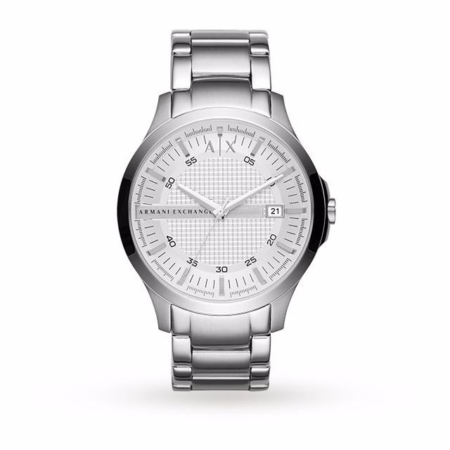 b23044f96858 Reloj Armani Exchange Hampton Plateado Ax2177 Caballero -   3
