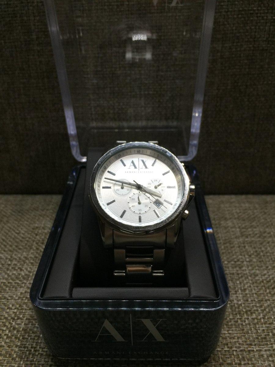 bc146d6522a Reloj Armani Exchange Original Nuevo P. Hombre Ax2058 Acero ...