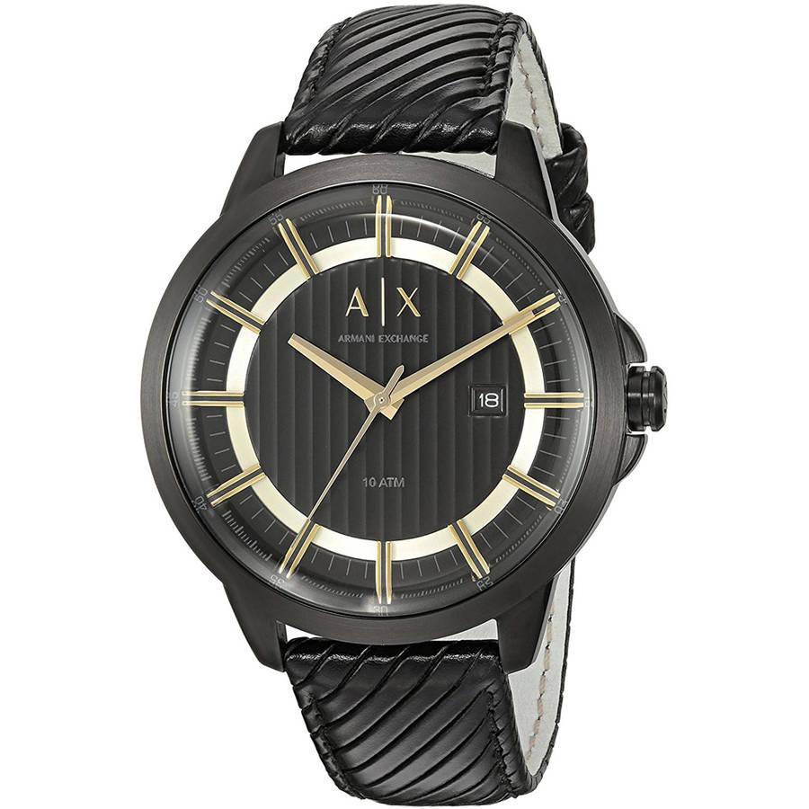 90b254e07f42 Reloj Armani Exchange Para Hombre Ax2266 Con Correa De Cuero ...