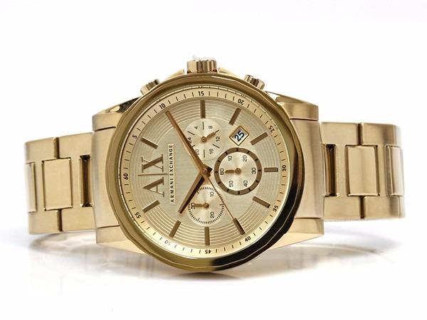 d9b56cbc2bce Reloj Armani Exchange Mod. Ax2099 Dorado Para Caballero -   4