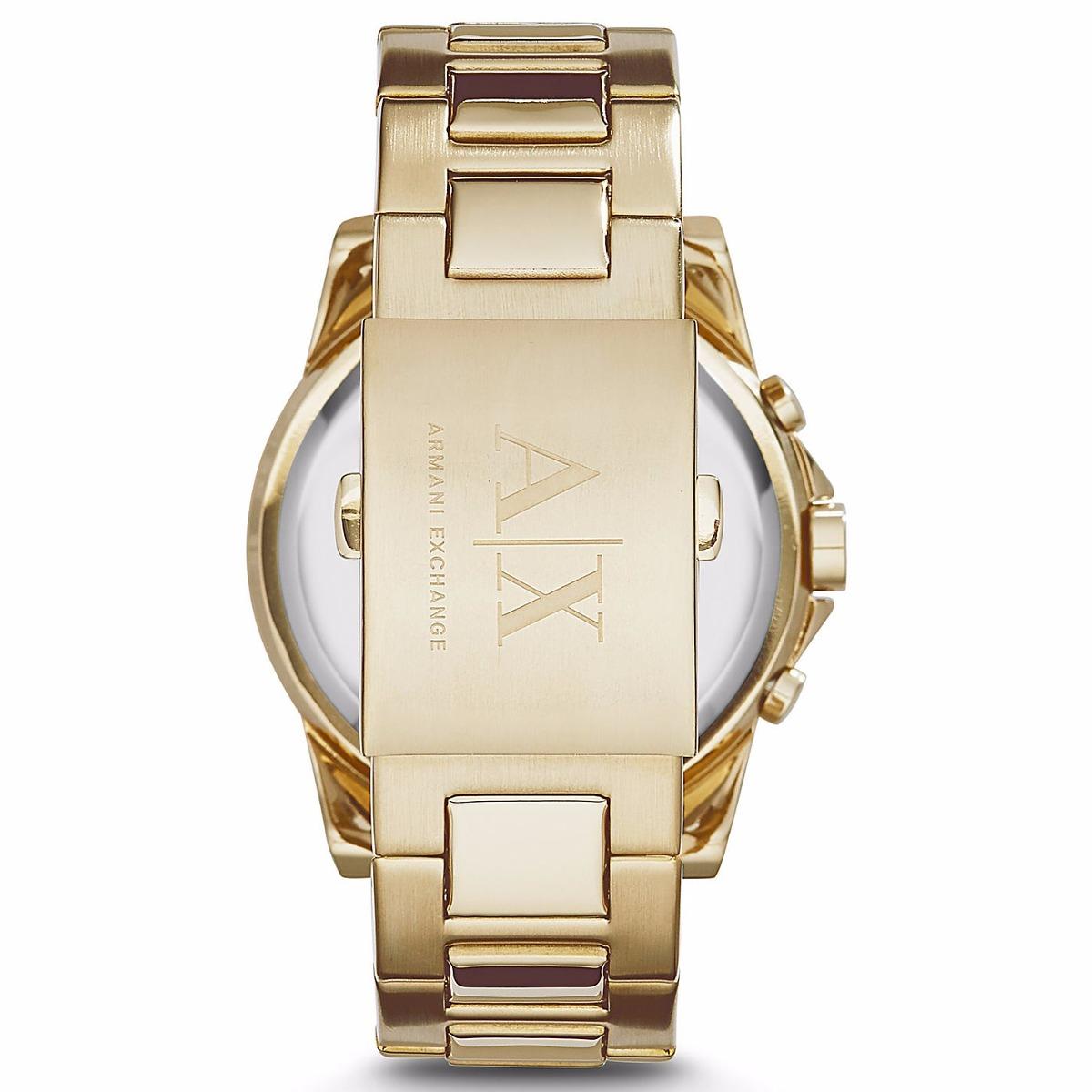 381d247e1a51 reloj armani exchange mod. ax2099 dorado para caballero. Cargando zoom.