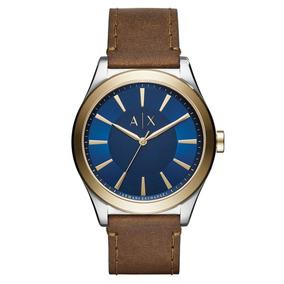 ef43c79ed010 Correa Caucho Reloj Armani Exchange - Relojes en Mercado Libre México