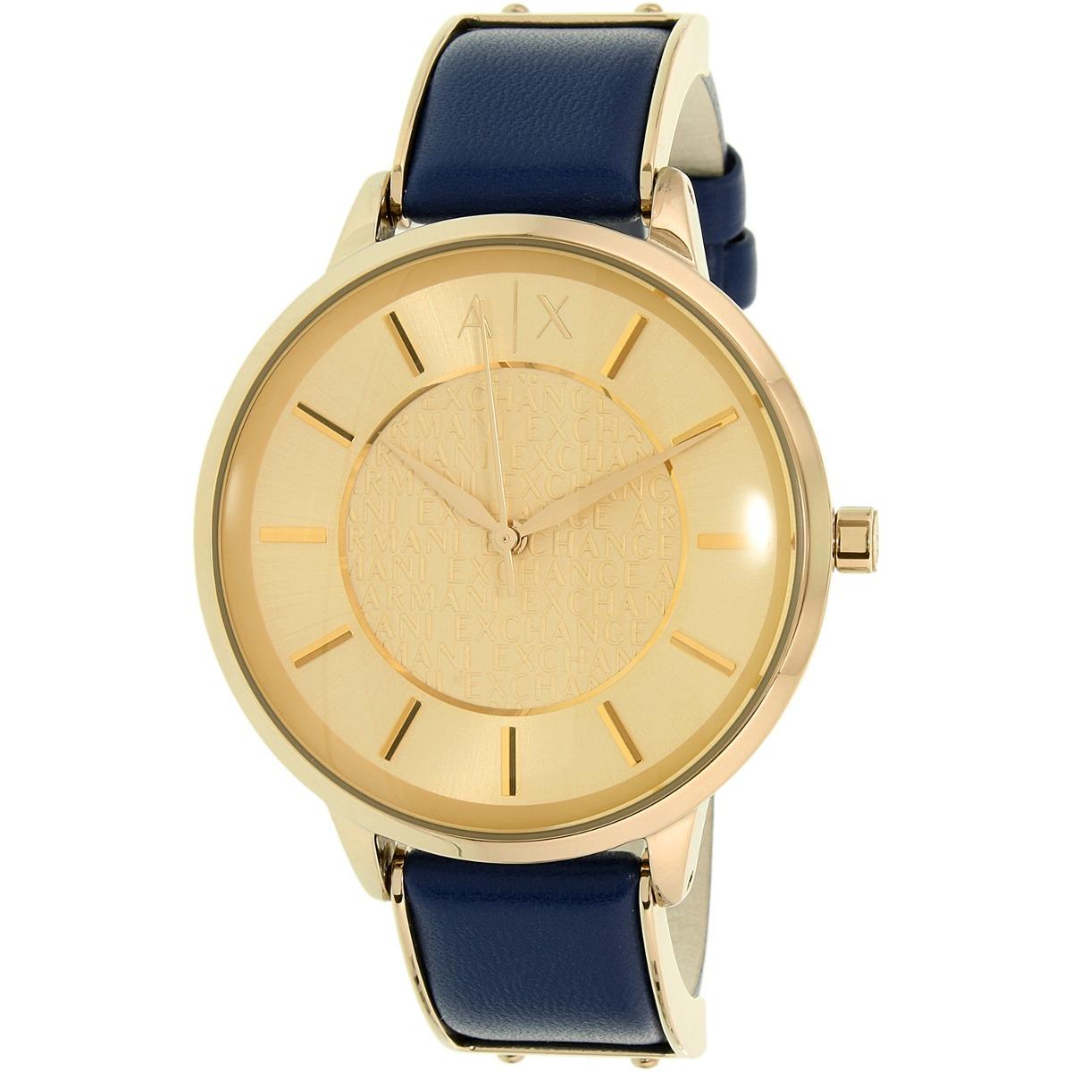 fc6457931f8a Reloj Armani Exchange Para Mujer Ax5312 Con Correa De Cuero ...