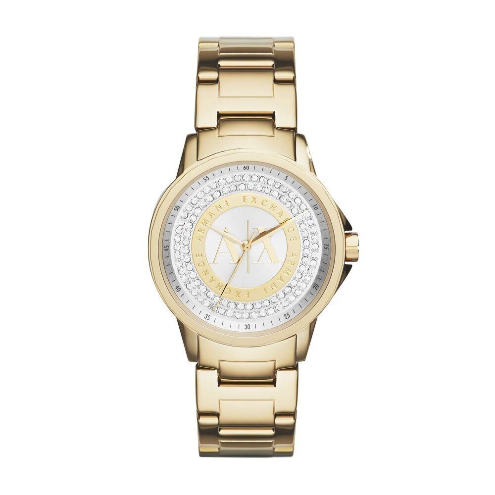 f3ee20a54ded reloj armani exchange mujer dorado original nuevo ax4321. Cargando zoom.