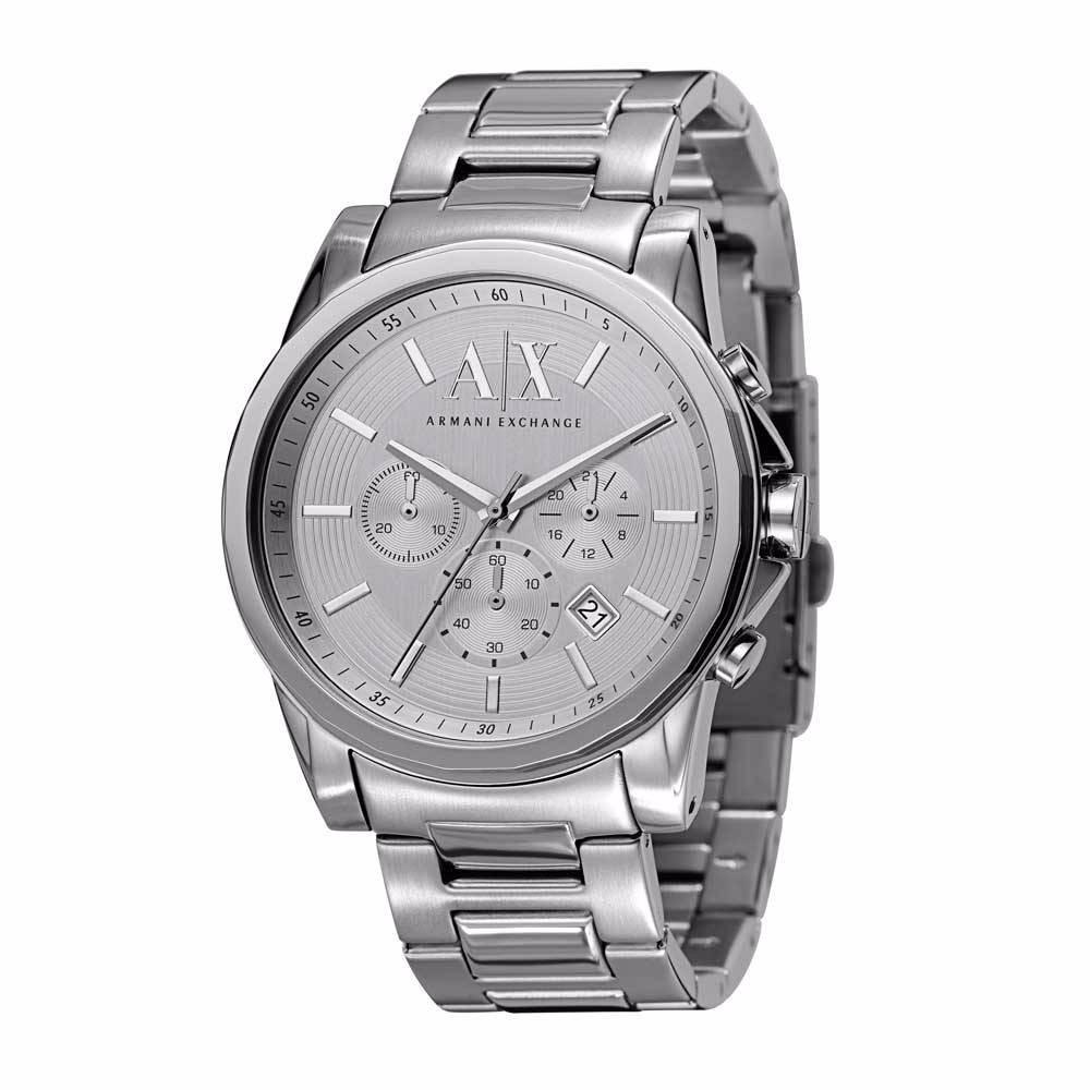 4aa684c97aa reloj armani exchange original nuevo p. hombre ax2058 acero. Cargando zoom.