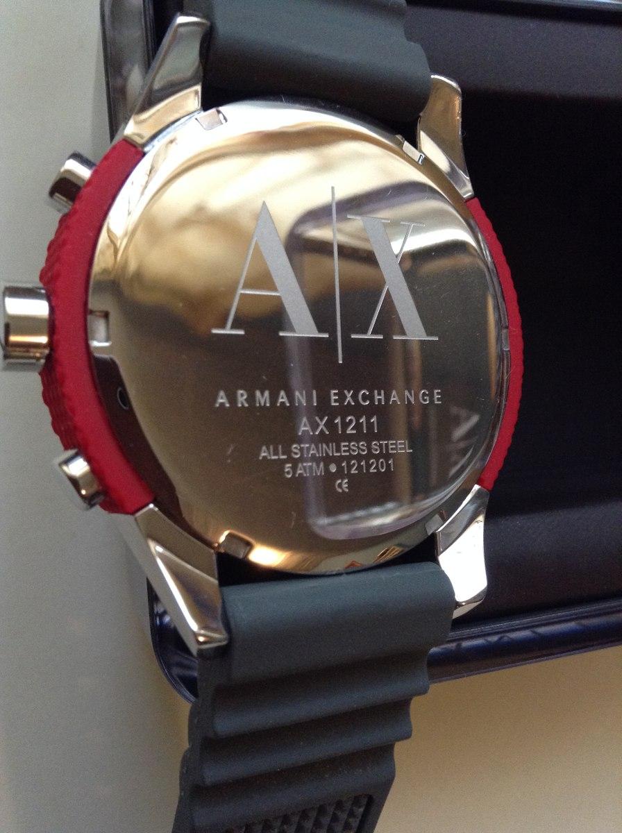 55c620b12073 reloj armani exchange para caballero. Cargando zoom.