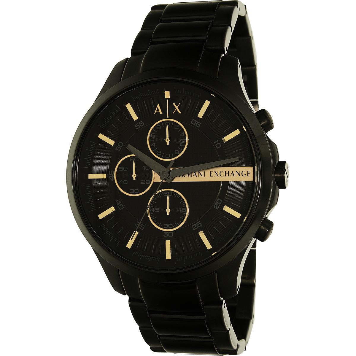e88ec9864c89 reloj armani exchange para hombre ax2164 tablero negro con. Cargando zoom.