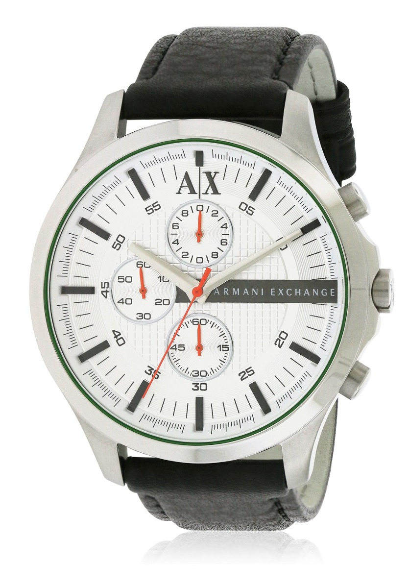 bdc3d71e589f reloj armani exchange para hombre ax2165 con correa de cuero. Cargando zoom.
