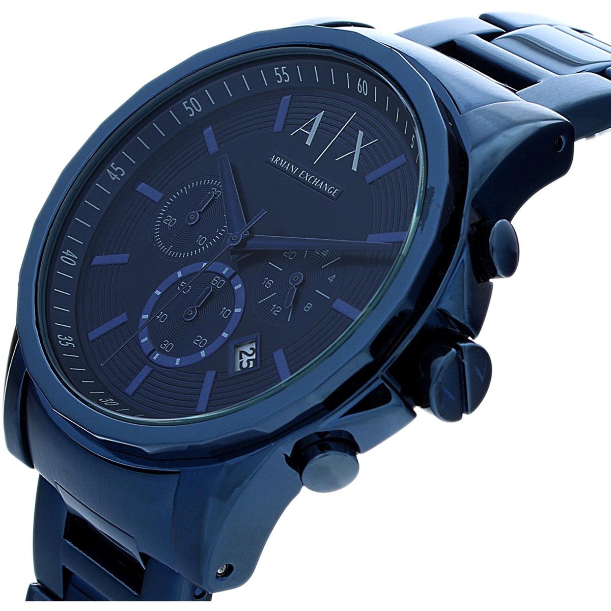 701a51995 Reloj Armani Exchange Para Hombre Ax2512 Azul En Acero - $ 6,166.68 ...