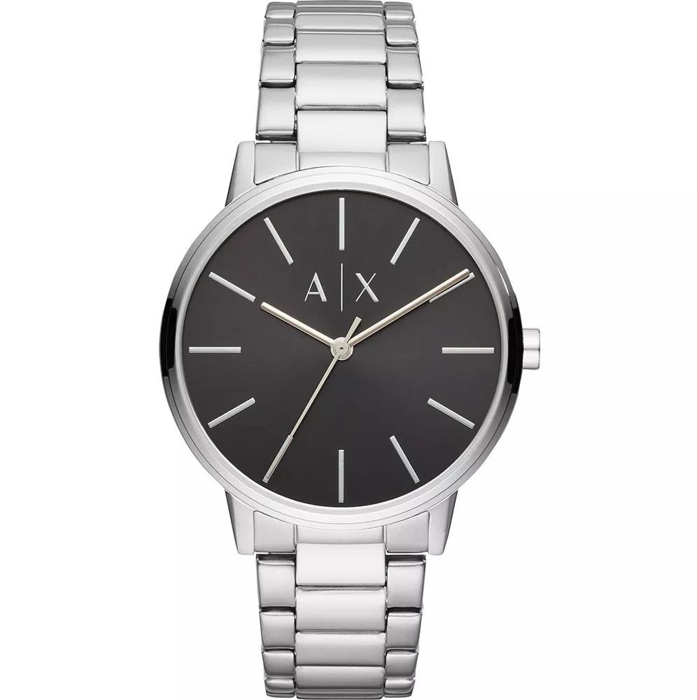 c380a7459aa2 reloj armani exchange para hombre ax2700 plata dial negro. Cargando zoom.
