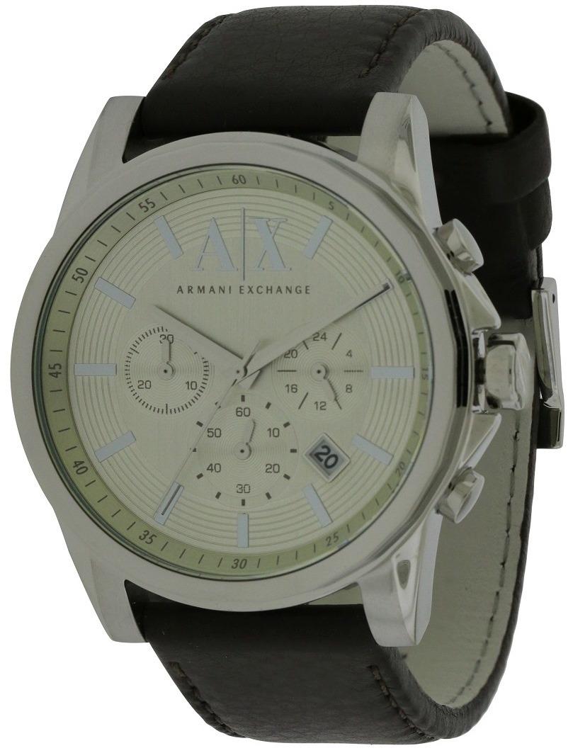 549f3431dc8e reloj armani exchange para hombres (ax2506) correa de cuero. Cargando zoom.