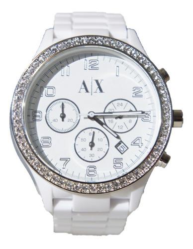 reloj armani exchange white mod. ax5103