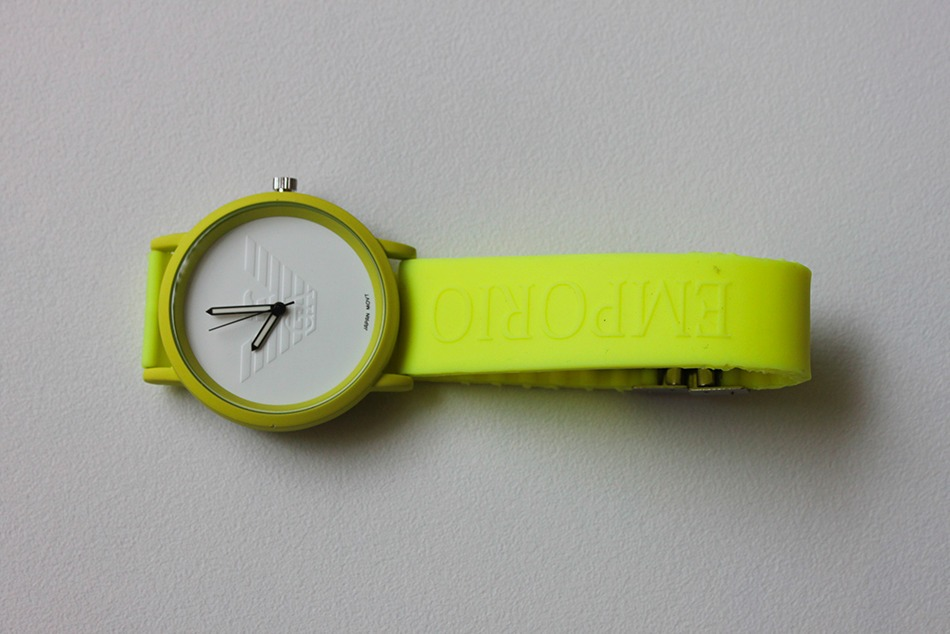 c072da1dfe1f Reloj Armani G Deportivo Caucho Unisex Analogo -   549.00 en Mercado ...