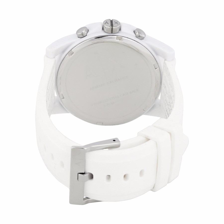 15753dc9a861 reloj armani exchange ax1325 cronógrafo blanco unisex. Cargando zoom... reloj  armani unisex. Cargando zoom.