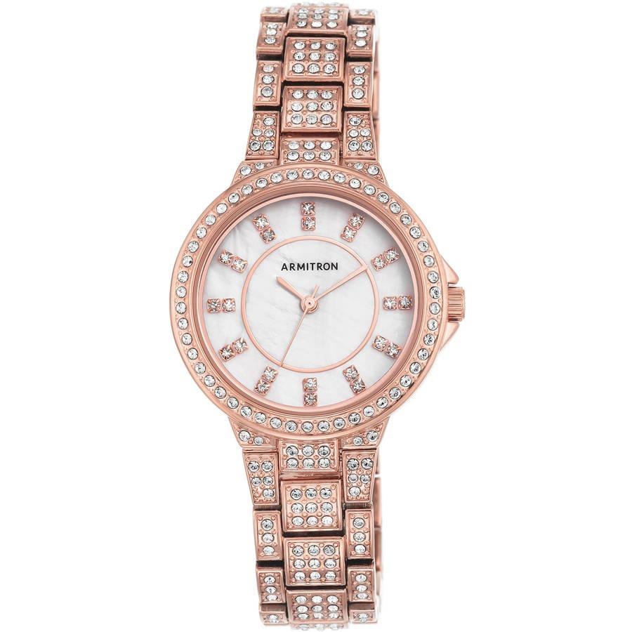 reloj armitron para mujer 75 5317mprg brazalete color oro. Cargando zoom. 417e289855d7