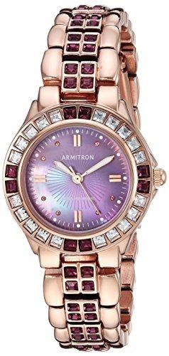 Reloj Armitron Para Mujer De 75 3689 Vmrg De Color Amatista ... ab9333b31811