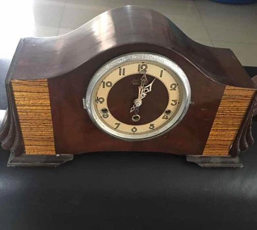 reloj art deco antiguo forestville en perfecto estado