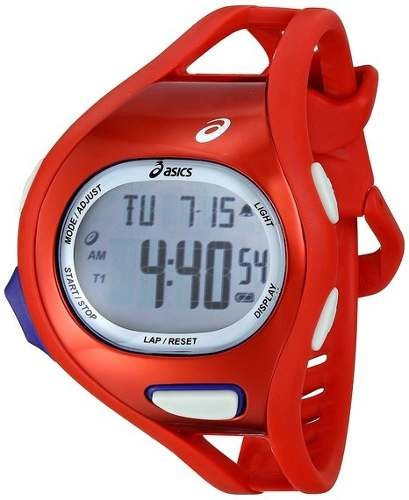 reloj asics display cqar0706 rojo