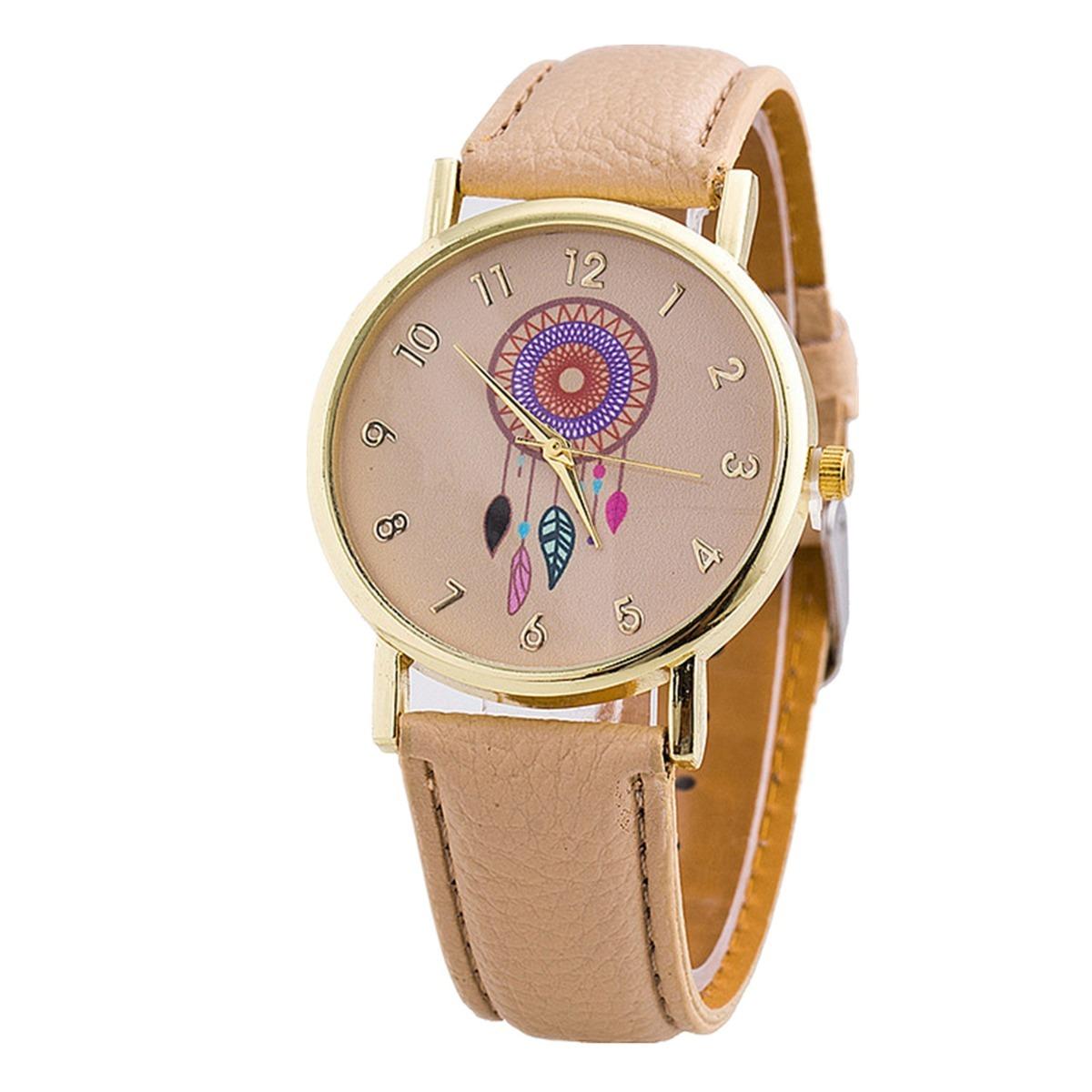Reloj atrapasueños dama piel o tejido relojes moda cargando zoom jpg  1200x1200 Mercado libre tejido atrapasueños 0e21119465a2