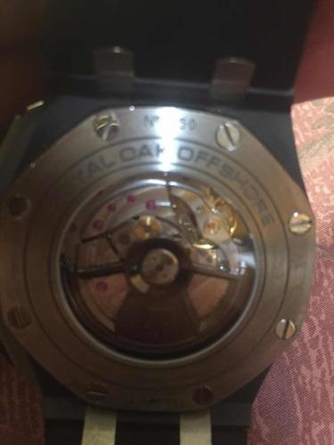 reloj audemars piguet automático cronógrafo con caja de 44mm