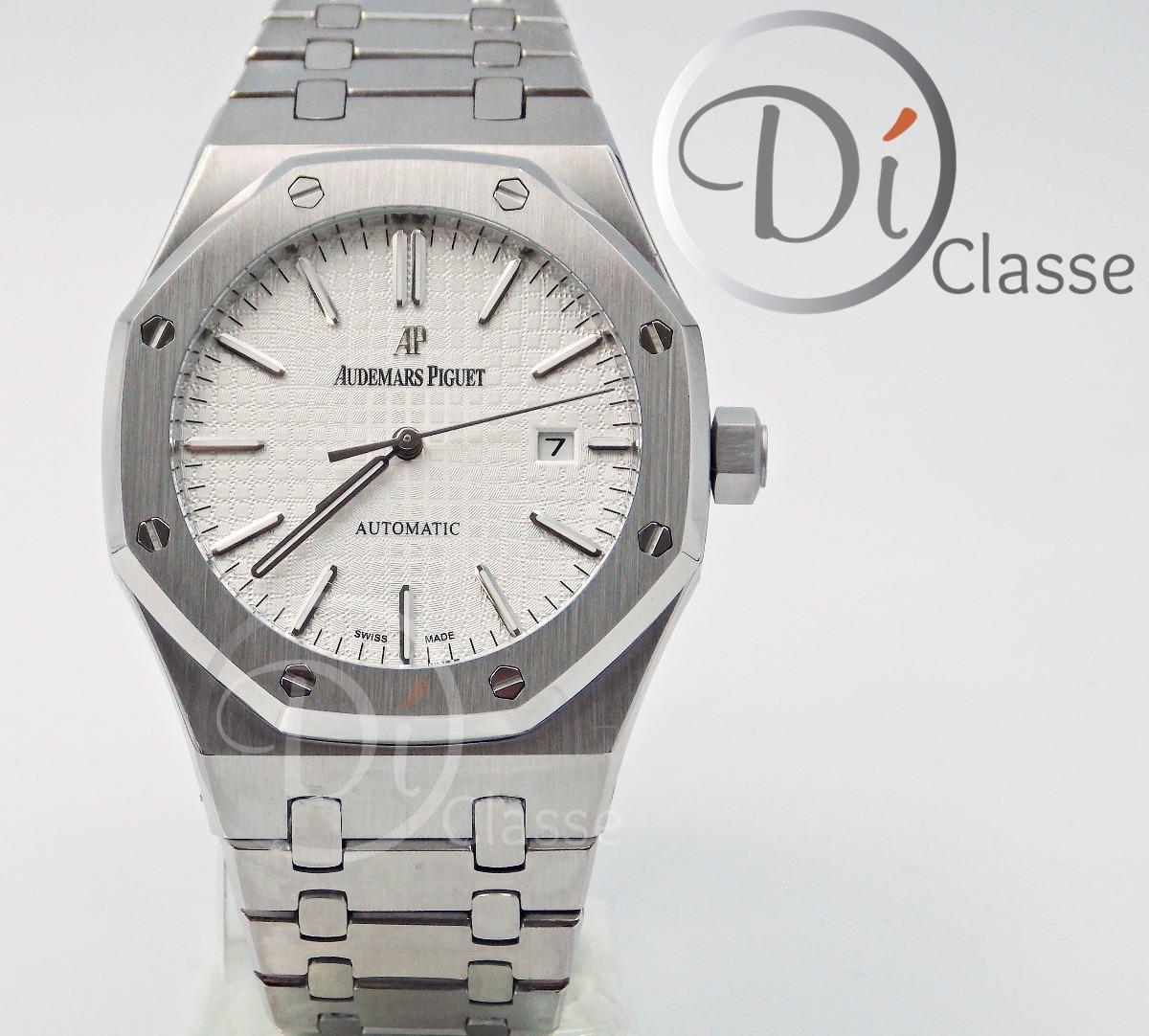 1d39253f983 Reloj Audemars Piguet Royal Oak Acero En Blanco -   4