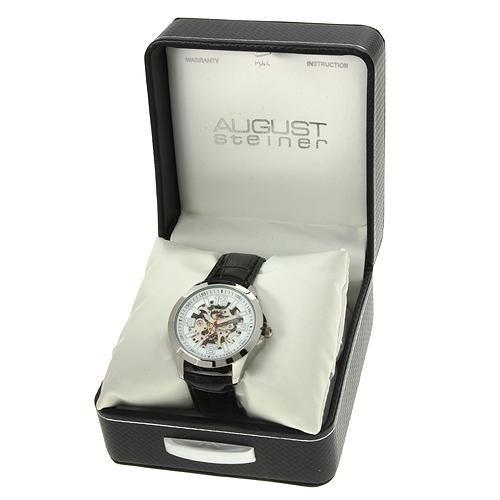 reloj august steiner / hombre / automático b / envio $0 vjr
