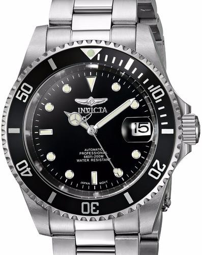 reloj automatico 21 joyas invicta 8926ob acero pro diver
