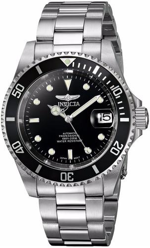 reloj automatico 21 joyas invicta pro diver 8926ob acero