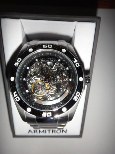 reloj automatico armitron 204406svsv