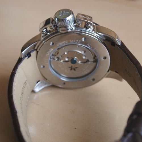 reloj automatico nuevo metal ch ss correa cocodrilo prototyp