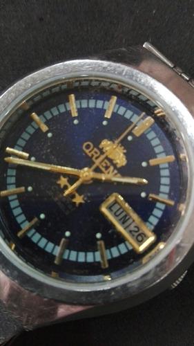 reloj automático orient crystal 21 jewels único!