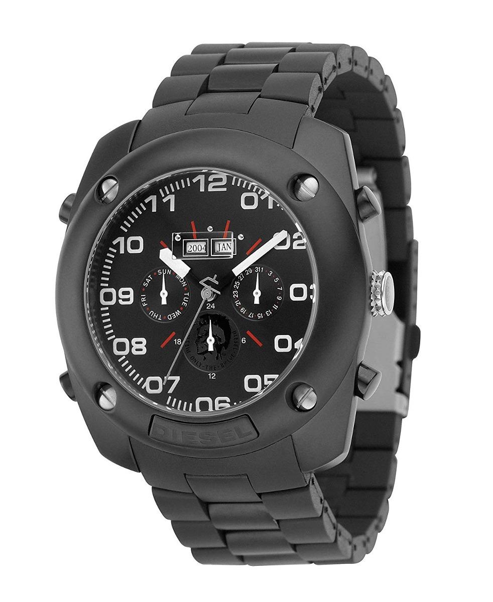 bdfda7555a57 Reloj Automático Para Hombre De Acero Inoxidable Negro... -   1.916 ...