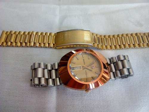 reloj  automático rado diastar tungsteno 25 rubies oro rosa