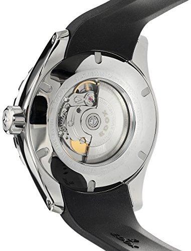 reloj automatico sumergible de acero inoxidable y caucho edo