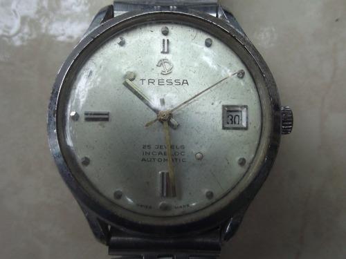 reloj automático tressa 25 jewels