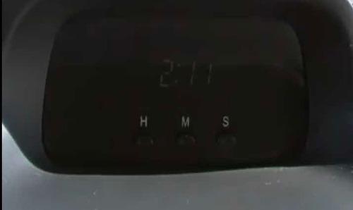 reloj aveo - reparación se borra la hora al apagar el auto