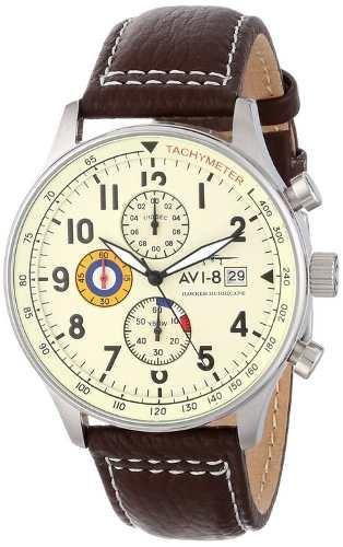 reloj avi-8 av-4011-04 marrón