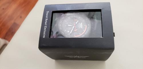 reloj aviator cronógrafo 10bar waterresistant ac inox import