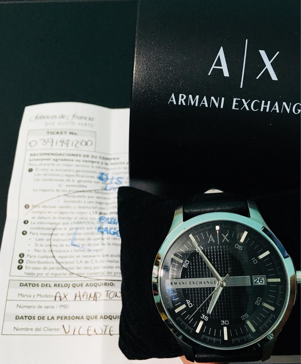 7d04a2a309fd Reloj A x Negro Para Caballero -   2