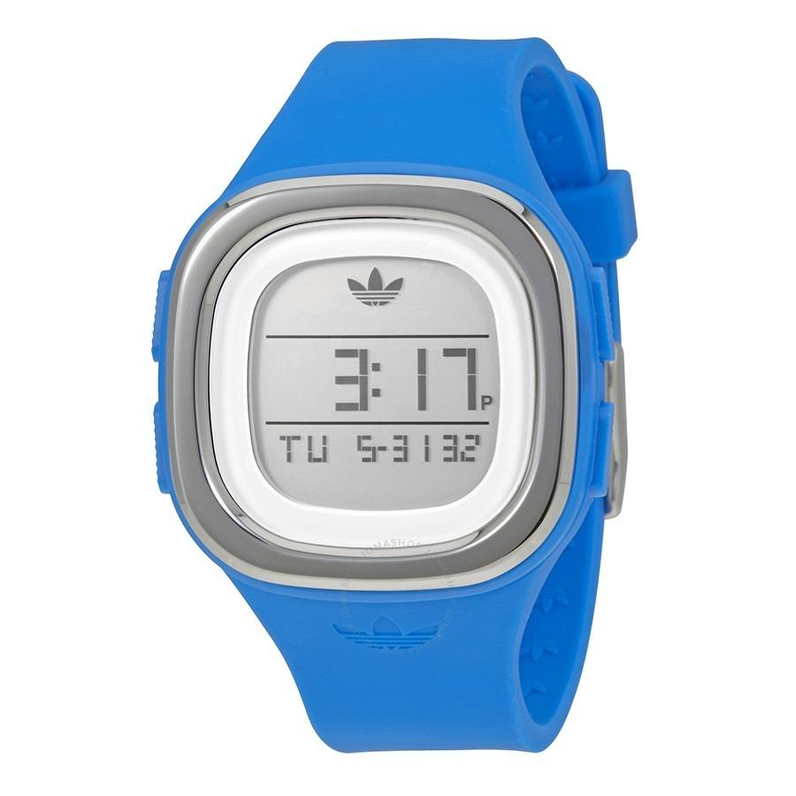 16f492ffbb2b reloj azul digital adidas - original silicona mod adh3034. Cargando zoom.