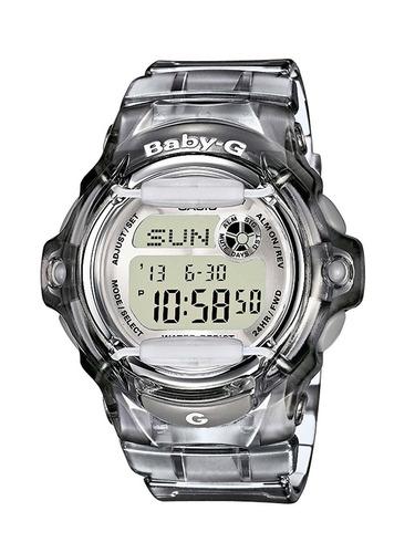reloj baby-g black  #bg169r-8 femenino