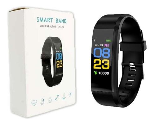 reloj banda deportes m2 sensor pulso calorias smart band