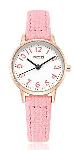 Fácil Leer Baosaili Con De Para Reloj Cuero Niñas R54j3LqA