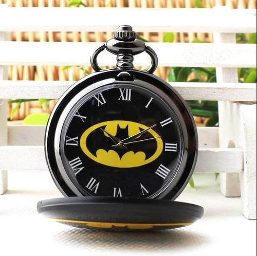 reloj batman pocket watch de bolsillo + bolsita + regalo