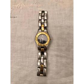 Reloj Baume & Mercier Cristal De Zafiro, Azul Noche. Quarzo