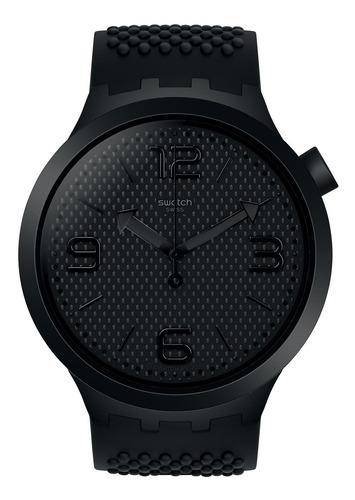 reloj bbblack negro swatch