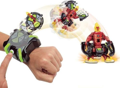 reloj ben 10 omnitrix batalla lanzador de figuras original